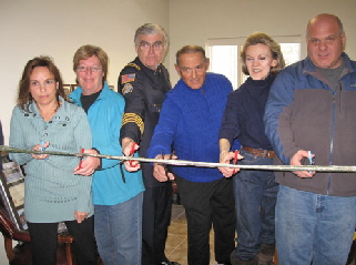 New Shelter Cutting the ribbon 2011